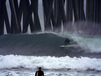 1/26/20 * DAILY SURFING PHOTOS * H.B. PIER