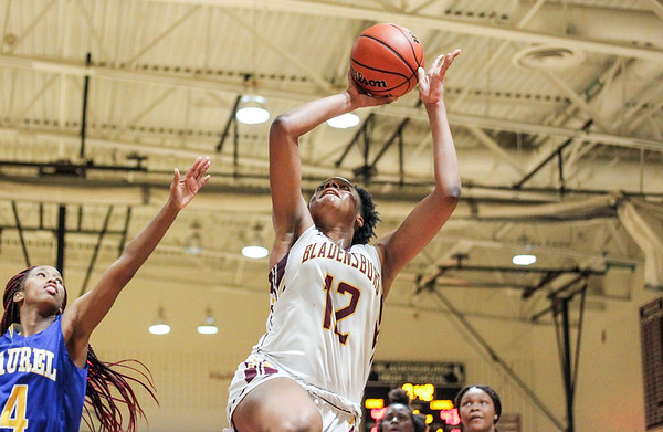 High School Girls Basketball: Laurel vs. Bladensburg
