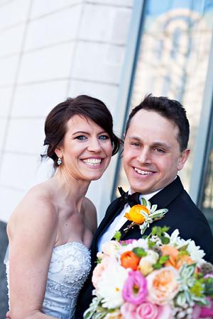 Andrea & Dean {wedding day}