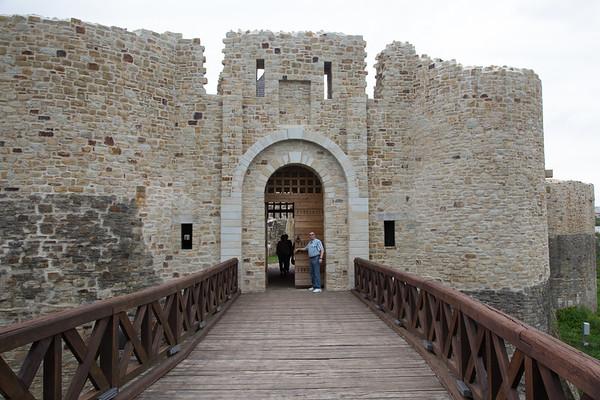 Cetatea de Scaun a Sucevei, Romania - June, 2016