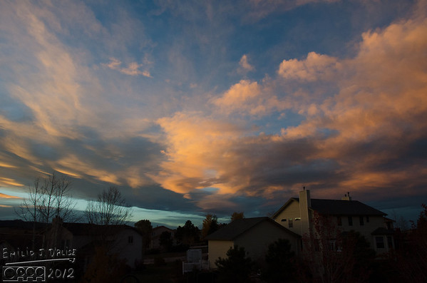 Colorado Sunset - 19OCT2012