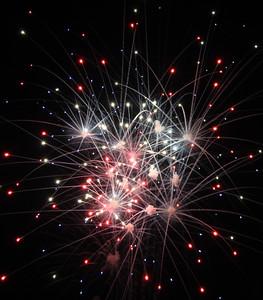 Fireworks Show in Oskaloosa 2013