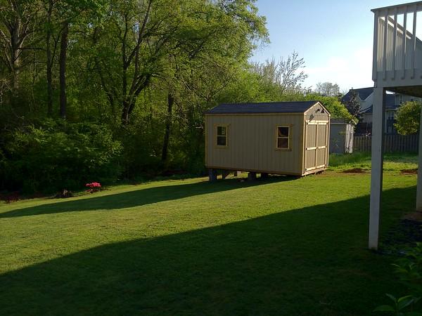 2012-03-10 - Creekhead Shed Project