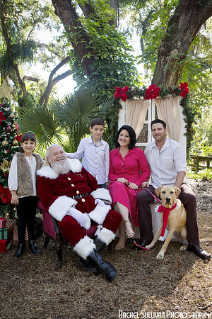 Santa 2019: The Miller-Alvarez Family!