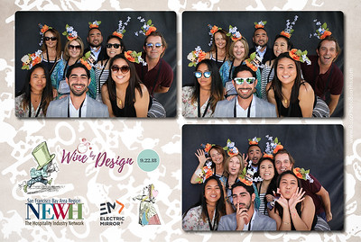 2018 NEWH Wine By Design Event