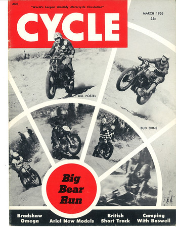 1956 March - Cycle Magazine