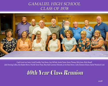 4oth Year Class Reunion for GHS 1978