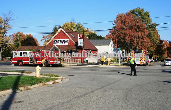 10/9/11 - Mason structure fire, 204 N. Cedar St