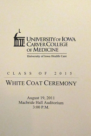 CCOM White Coat Ceremony 2011