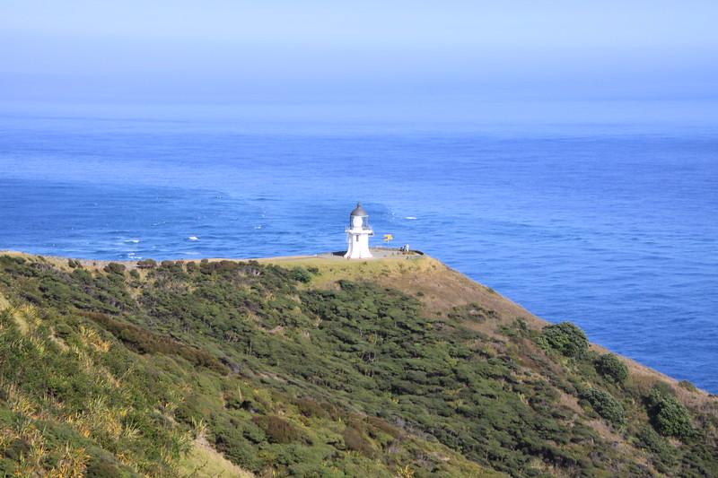 Light at Cape Reinga at northern tip