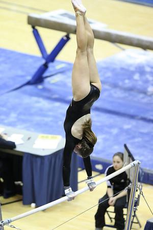Cal Bears, Stanford, Oregon State, Denver, Women's Gymnastics, Mar 6, 2011
