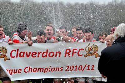 5th March 2011  Claverdon v Warwick