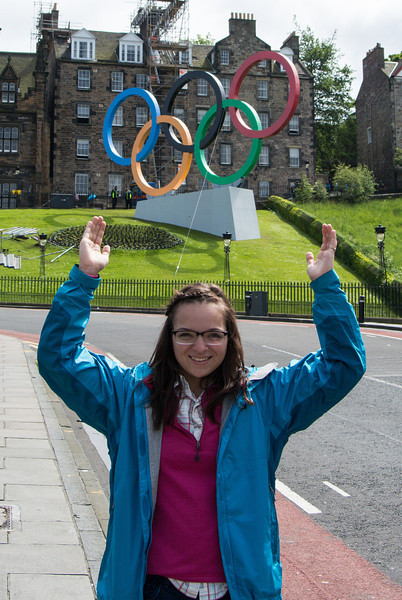 The only Olympic event held is Scotland was football (soccer).