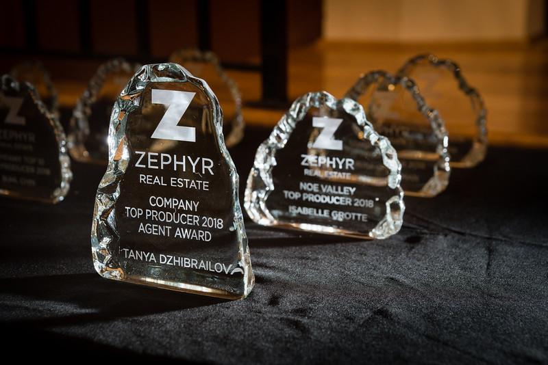 Zephyr - Top Producers - Individual Awards - 2018
