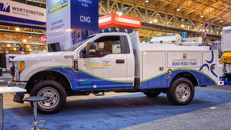 Ford F350 Trillium CNG Pick Up