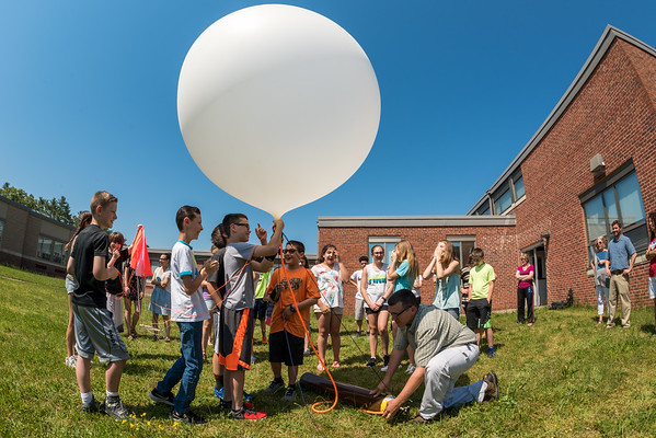 Ford Middle School Balloon Launch
