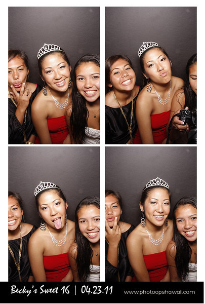 Becky's Sweet 16 (Photo Booth)