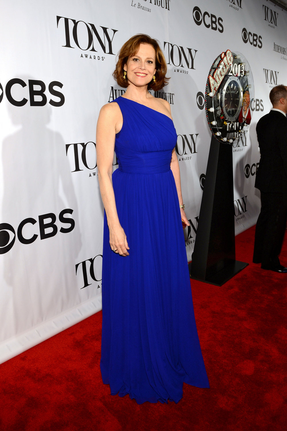 . Actress Sigourney Weaver attends The 67th Annual Tony Awards at Radio City Music Hall on June 9, 2013 in New York City.  (Photo by Larry Busacca/Getty Images for Tony Awards Productions)