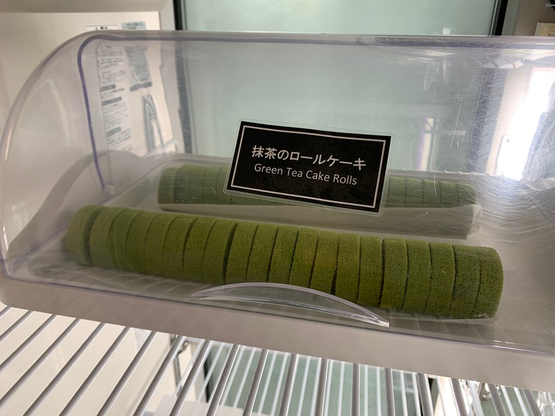 Green Ta Cake Rolls