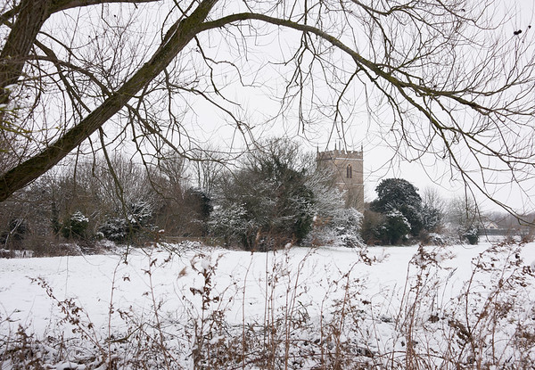 Chalgrove in the snow