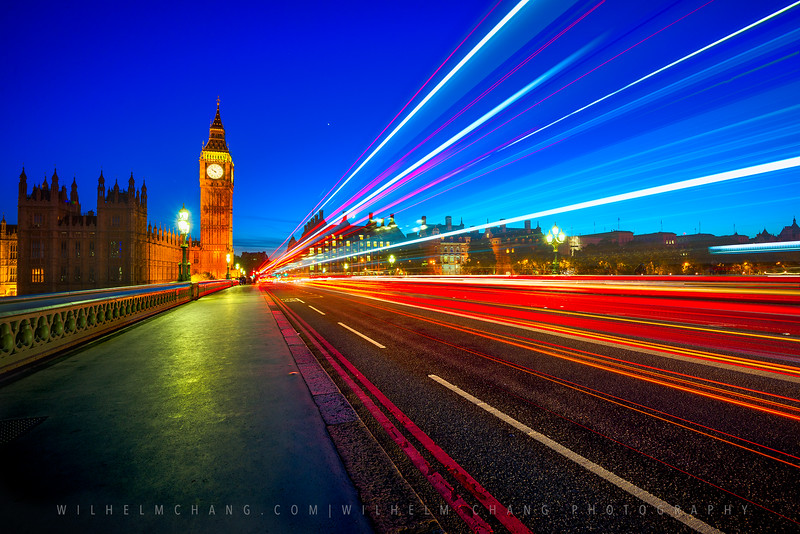 Westminster Light Trail