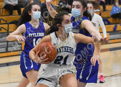 Franklin - Attleboro Girls Basketball 2-2-21