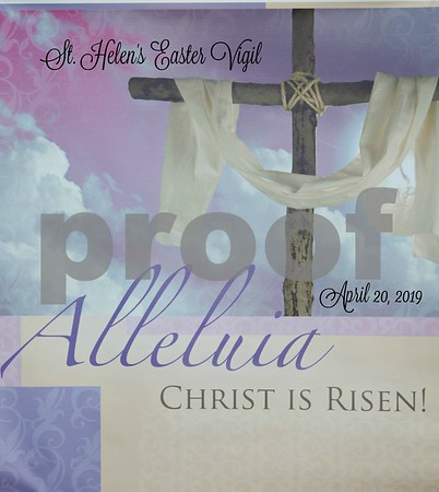 St. Helen's Easter Vigil April 20,  2019