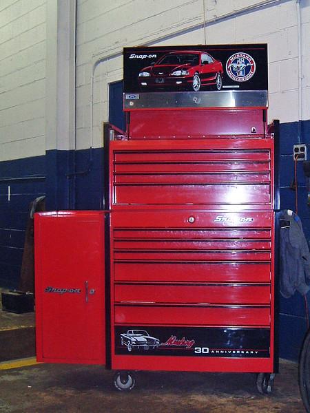 February 14, 2003:  My tool box .  .  .