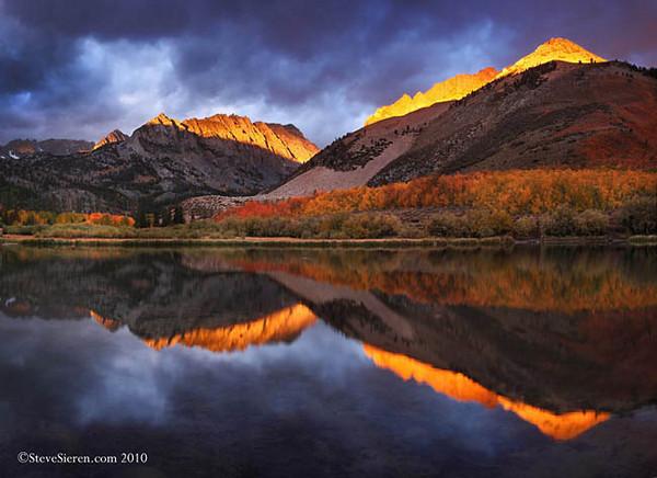 Storm Light of Autumn North Lake, Eastern Sierra Nevada Range California