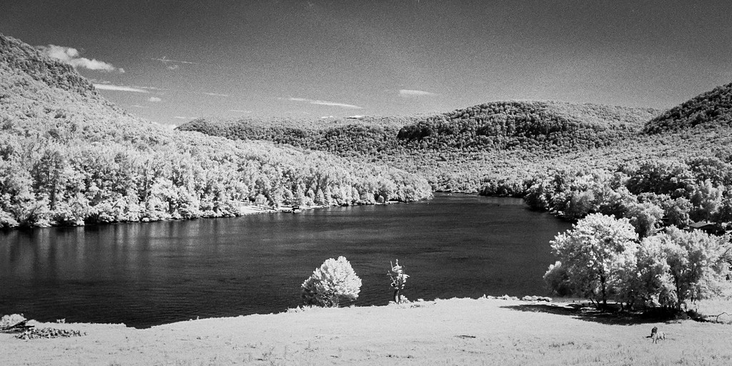 Ilford SFX 200 - TN River pano crop