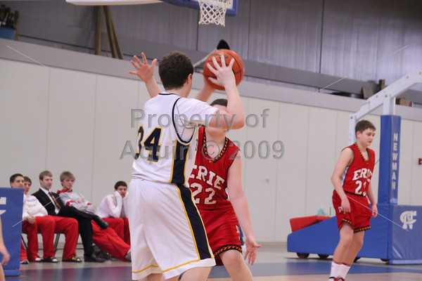 freshman boys bball at sterling newman tourney . 2.16.13
