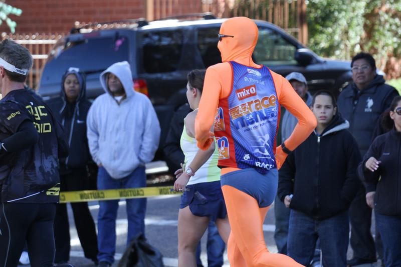 Orange Body Suit