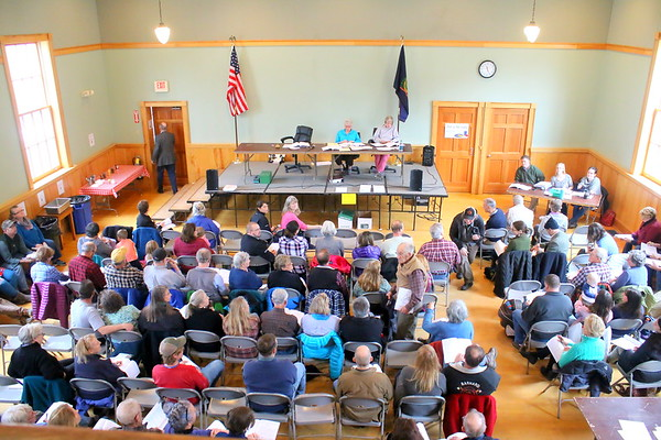 Barnard Town Meeting, 2017