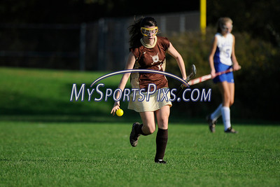 Thomaston vs Lewis Mills Field Hockey 2012