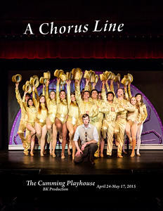 A Chorus Line Cast Photos - Print Orders