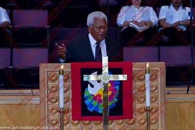 Speaker for St Luke Pentecost Sunday Worship - 20110612