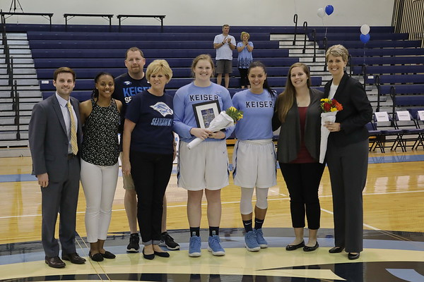 Senior Night Keiser vs Warner 2-15-18