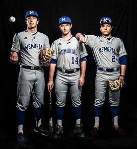 memorial baseball seniors 2019