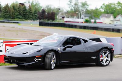I drove a Ferrari