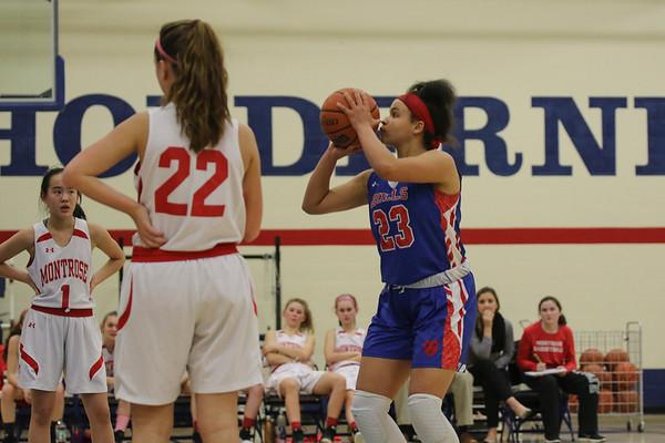 Girls' Varsity Basketball vs. Montrose School | February 28