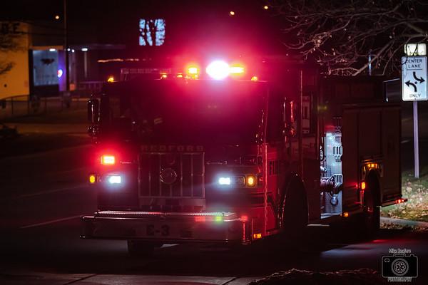 Redford MI, House Fire 11-23-2019