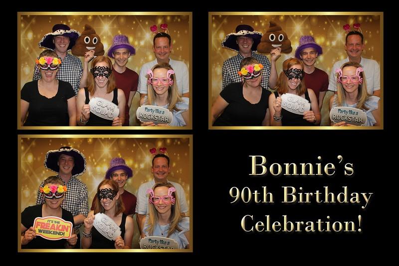 Bonnie's 90th Birthday