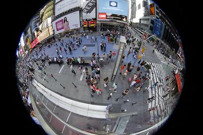 NYC Midtown Manhattan Canon 8-15mm Fisheye Zoom