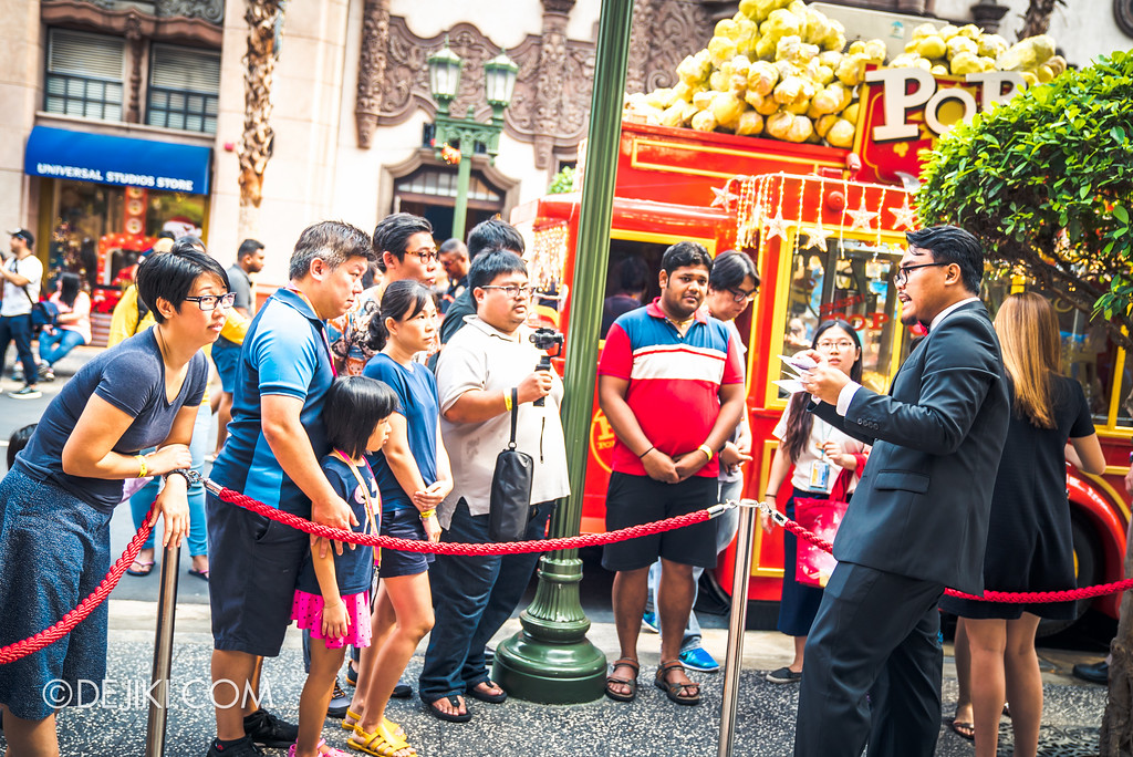 Universal Studios Singapore - Silver Screen Store - Shopping Spree Event Participants briefing