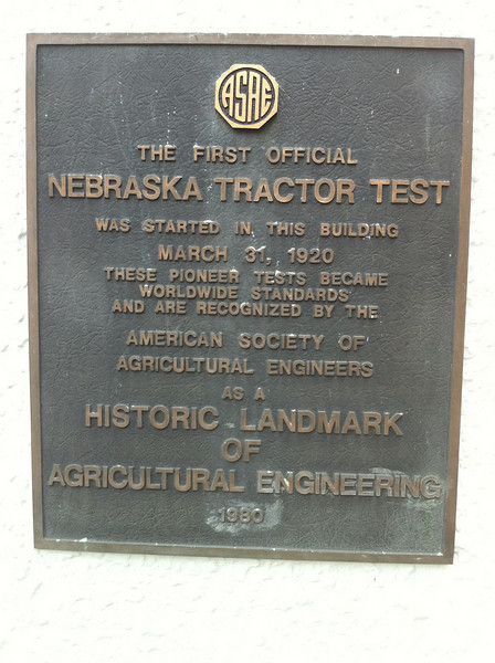 Nebraska Tractor Test Facility 2010