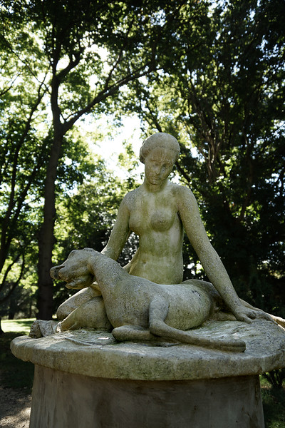 Sculpture - 'Diana the Huntress' or 'Diana with a Fawn' - 1843