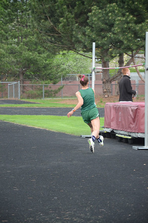 Girls' High Jump - 2014 MHSAA T&F Regional at Warren Mott