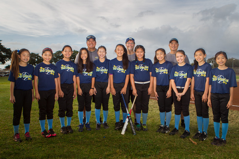 2014 Ho'okela 12s Team Portraits
