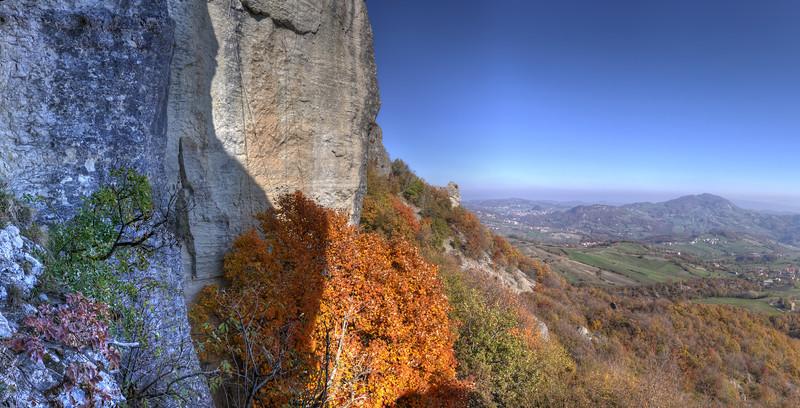 Pietra di Bismantova - Castelnovo ne' Monti, Reggio Emilia, Italy - November 13, 2011