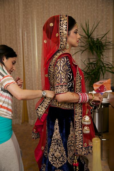 Le Cape Weddings - Indian Wedding - Day 4 - Megan and Karthik Bride Getting Ready 17.jpg